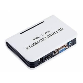 Bộ chuyển đổi VGA và Audio sang HDMI